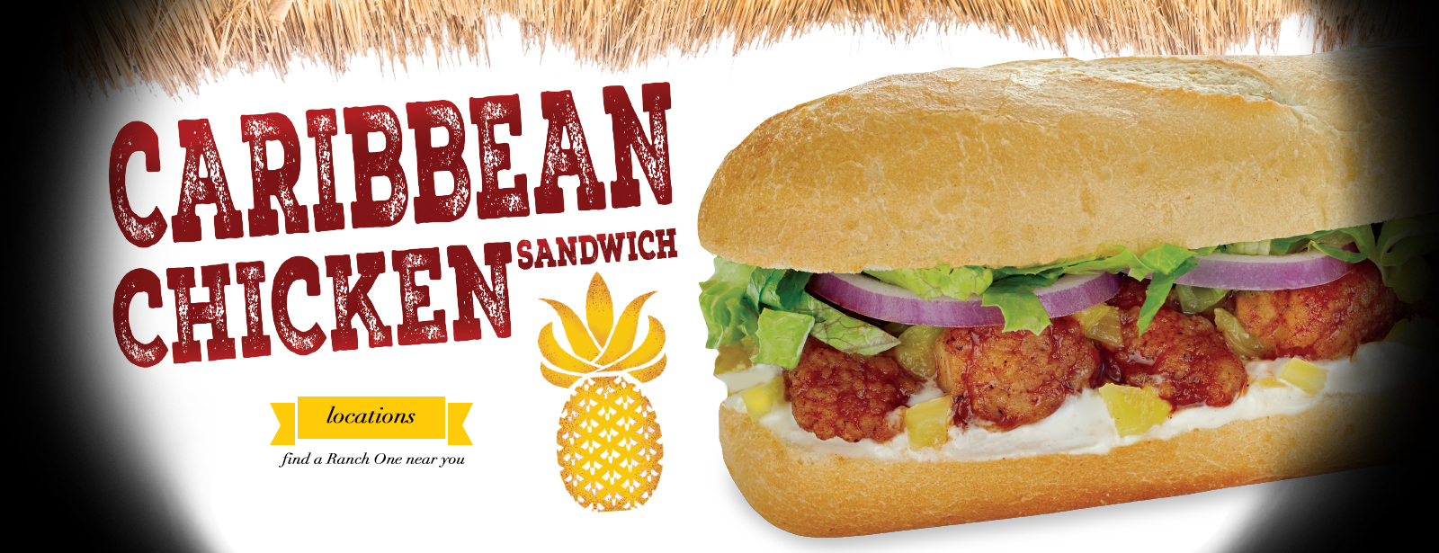 Caribbean Chicken Sandwich